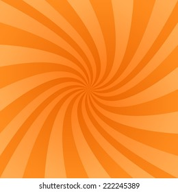 Orange swirl design background