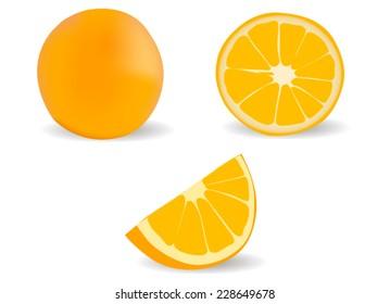 Orange Wedge Images, Stock Photos & Vectors | Shutterstock