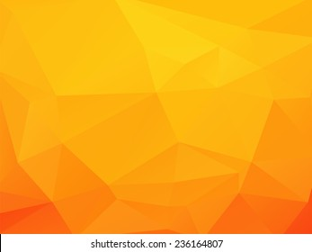 orange - yellow background with triagles