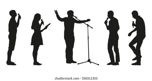 Orator Silhouette