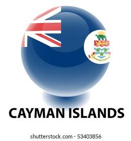 Orb Cayman Islands Flag