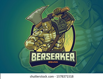 Orc Character for Esports Logo