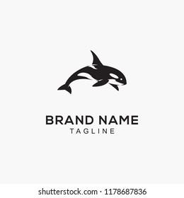orca dolphin logo