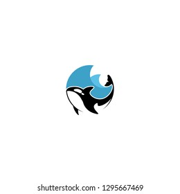 Orca Killer Whale logo