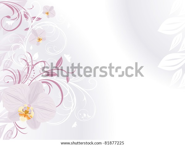 orchids-decorative-sprigs-background-car