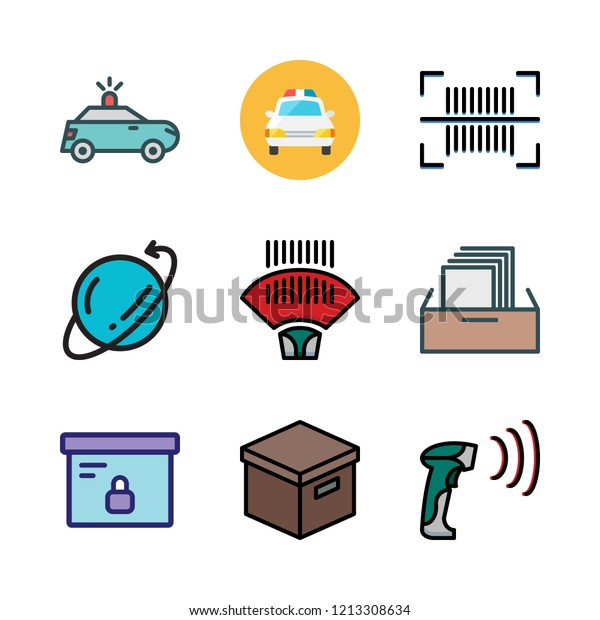 Order Icon Set Vector Set About Stock Vector (Royalty Free