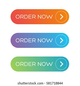 Order Now web button set
