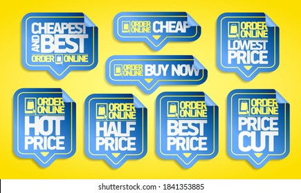 Order online vector stickers set - cheapest and best, buy now, price cut and best price