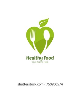 Healthy Food Logo Images Stock Photos Vectors Shutterstock