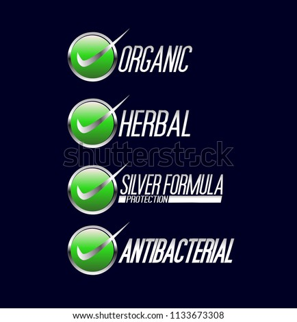 Organic Label Herbal Label