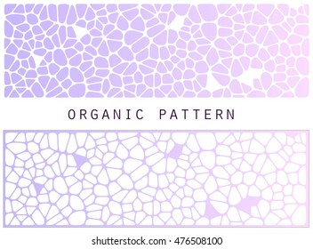 organic pattern for header background,wallpapers,and so on. You can easily change color as you like.
