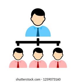 organisation chart icon