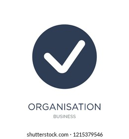 Organisation for Economic Cooperation and Development icon. Trendy flat vector Organisation for Economic Cooperation and Development icon on white background from business collection,