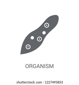 organism icon. Trendy organism logo concept on white background from General collection. Suitable for use on web apps, mobile apps and print media.