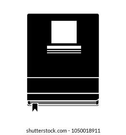 organizer planner book icon - address book - phone contact list