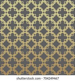 Oriental drawings vector modern geometry pattern hexagon, abstract geometric background, trendy print, retro texture