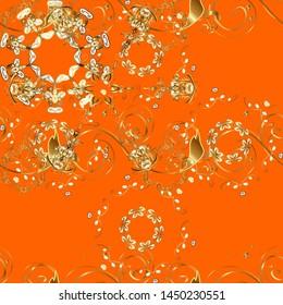 Oriental flourish vector. Colorful mandala. Yoga logo, background for meditation poster. Indian flower mandala. Anti-stress mandala. Decorative colored round ornament.