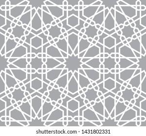 Фотообои Oriental seamless vector pattern. Arabic geometric ornament for background