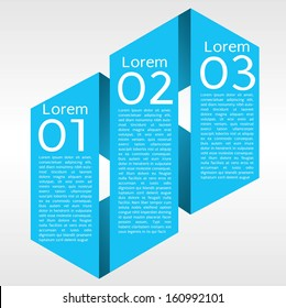 Origami Banner Vector EPS10