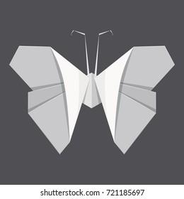 Papillon Origamie Stock Vectors Images Vector Art Shutterstock
