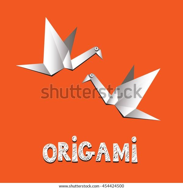 New Origami Crane Card | Origami cards, Origami design, Cards handmade | 620x600