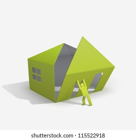 origami house builder (for your easy way to build or buy house...)