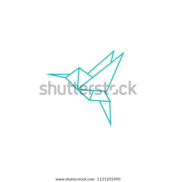 ORIGAMI HUMMINGBIRD - How to Make a Paper Hummingbird - YouTube   620x600