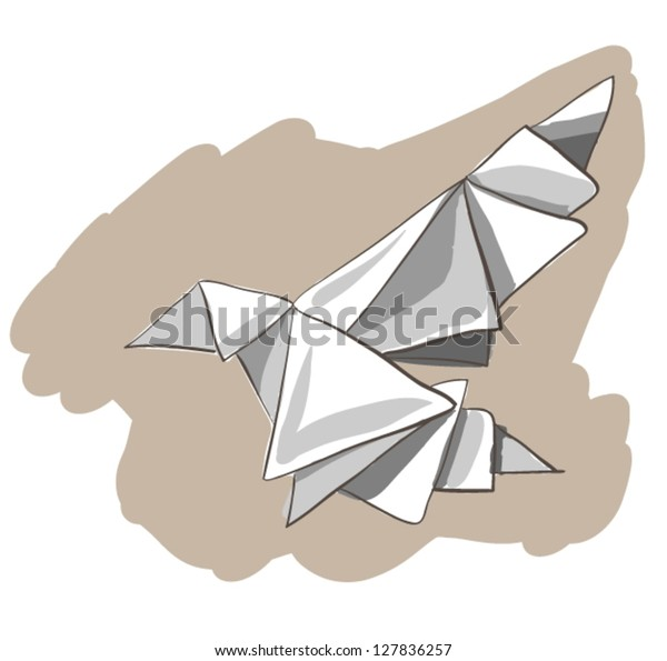 16 Dumbell Magic Hat Archery Origami Stock Vector (Royalty Free ... | 595x600