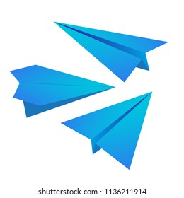 origami paper aircraft