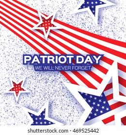 vector fantasy design american flag stock vector royalty free
