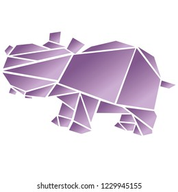 Step By Step Instructions How To Make Origami A Hippopotamus ... | 280x260