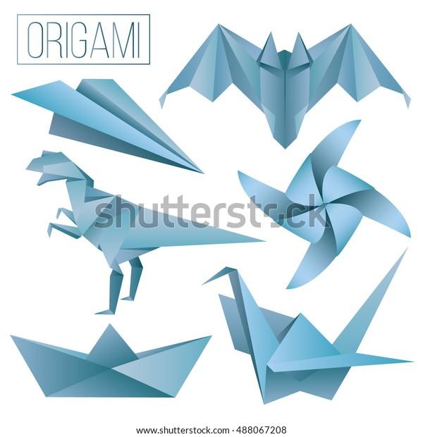 Dinosaur Party, Origami Dino Party, Set Of 10 Dinosaur Origami ... | 620x600