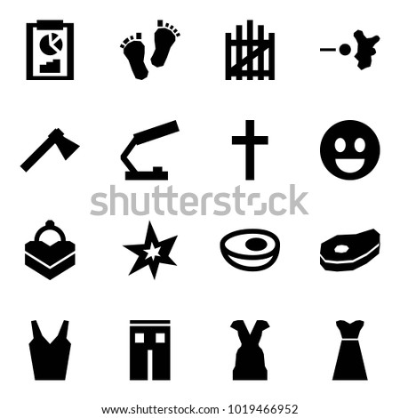 Origami Style Icon Set Clipboard Vector Stock Vector Royalty Free