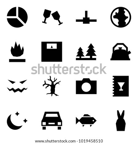 Origami Style Icon Set Diagram Vector Stock Vector (Royalty ... on