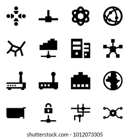 Origami style icon set - friendship vector, connect, network, cloud service, server, star, router, connector, earth, card, locked, spark distributor