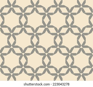 Original Abstract Seamless pattern. Vector background