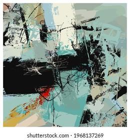 Original abstract vectorial composition - vector illustration