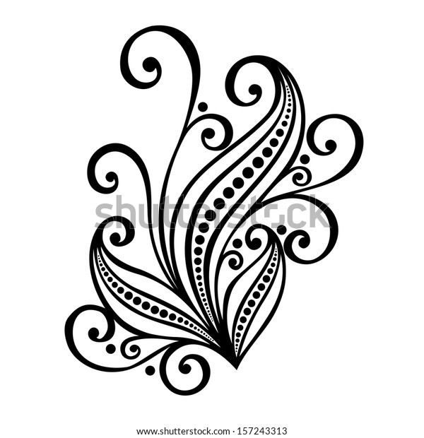 original decorative leaf ornament vector patterned stock vector royalty free 157243313 https www shutterstock com image vector original decorative leaf ornament vector patterned 157243313