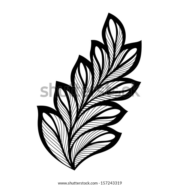 original decorative leaf ornament vector patterned stock vector royalty free 157243319 https www shutterstock com image vector original decorative leaf ornament vector patterned 157243319