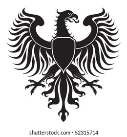 Original eagle crest. Easy to handle, change colors etc.