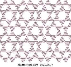 Original Eastern Seamless pattern. Vector background