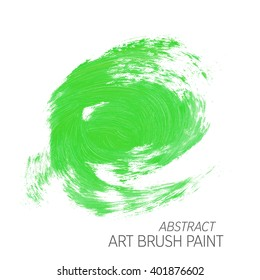 Original grunge brush art paint abstract texture background design acrylic stroke poster vector illustration. Perfect watercolor design for headline, logo and banner.