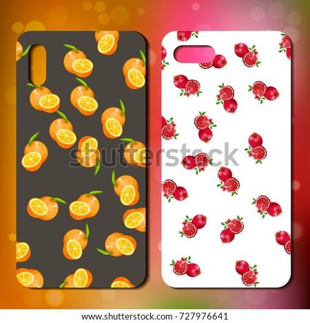 Original pomegranate and orange