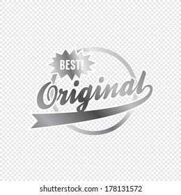 original product label