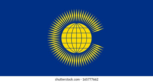 original and simple Commonwealth of Nations (CIS) flag isolated vector in official colors and Proportion Correctly