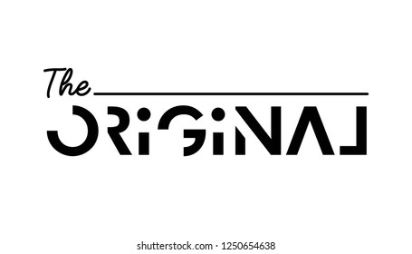 original slogan for T-shirt printing design and various jobs, typography,  vector.