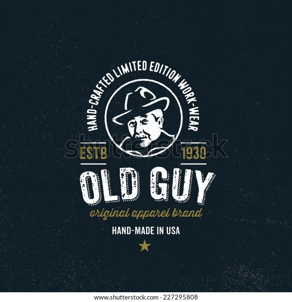 Original Tshirt Apparel Graphic Design Vintage Stock Vector