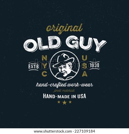Original Tshirt Fashion Apparel Graphic Design เวกเตอร์สต็อก