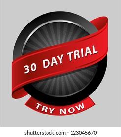 Originally created 30 days trial design element for multipurpose use