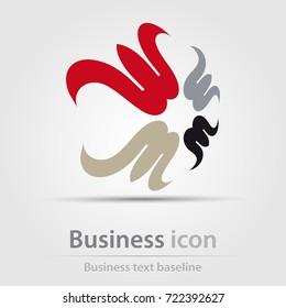 Originally created business icon for creative design tasks